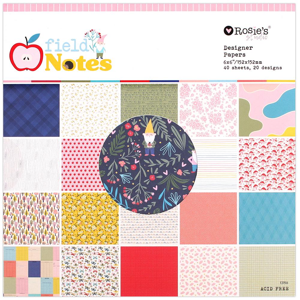 Paperpad pequeño colección Field Notes