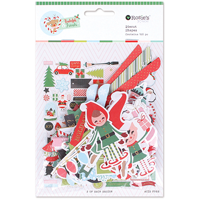 Diecuts colección Rudolph and friends