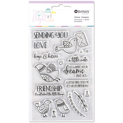 Take Flight Clear Stamps