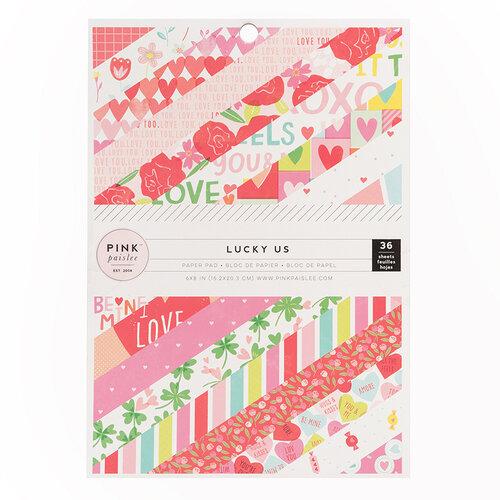 Colección Lucky us, paper pad de 6 x 8 pulgadas
