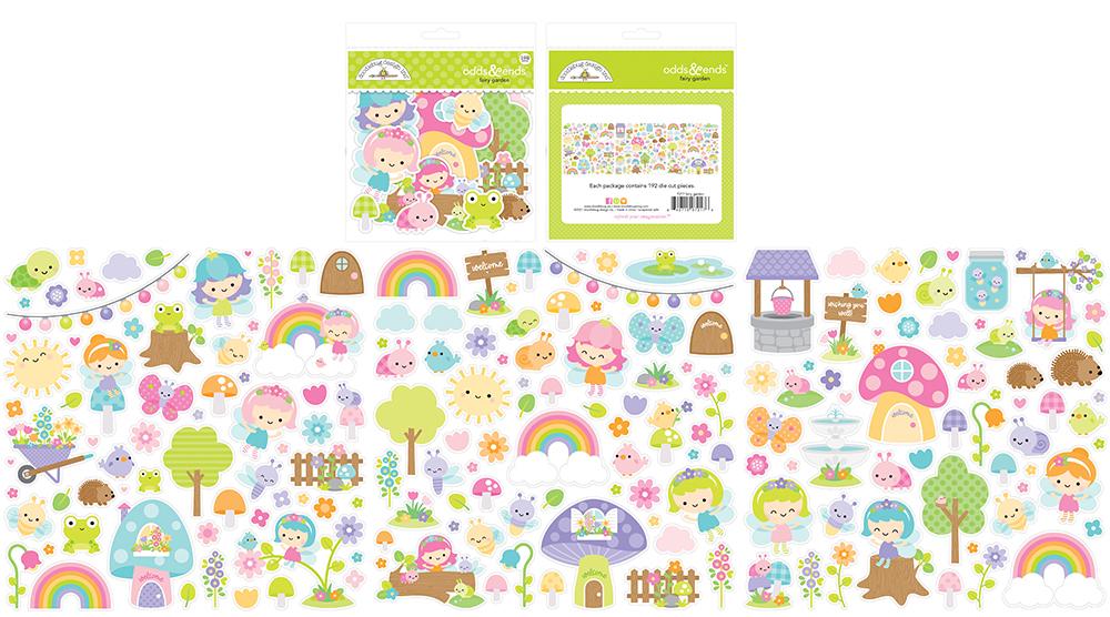 Fairy Garden - odds & endsTM  192 die cuts