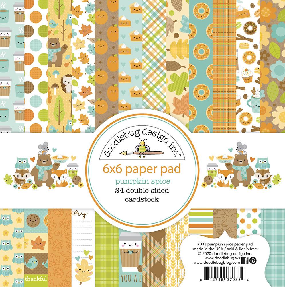 Paperpad Pumpkin Spice 6 x 6