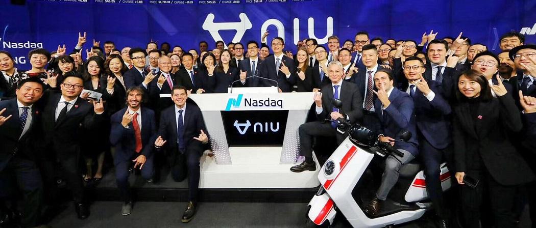 NIU se dispara en bolsa tras vender más de 250.000 motos eléctricas este año