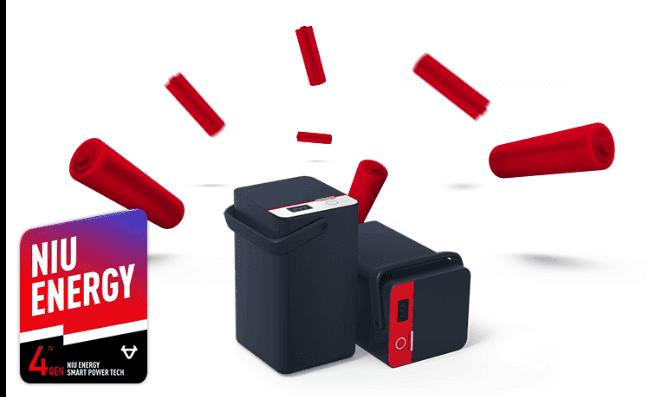 Todas las baterías NIU son extraíbles!