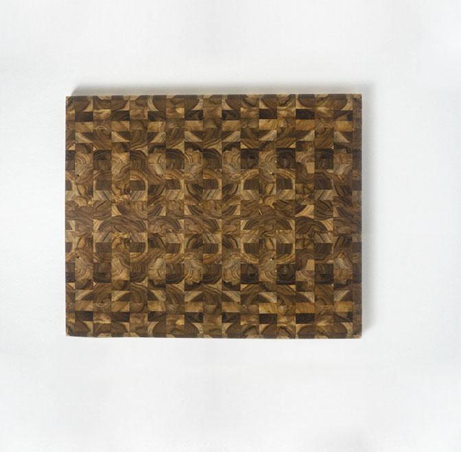 TABLA COCINERO TECA (60 X 50 CM)