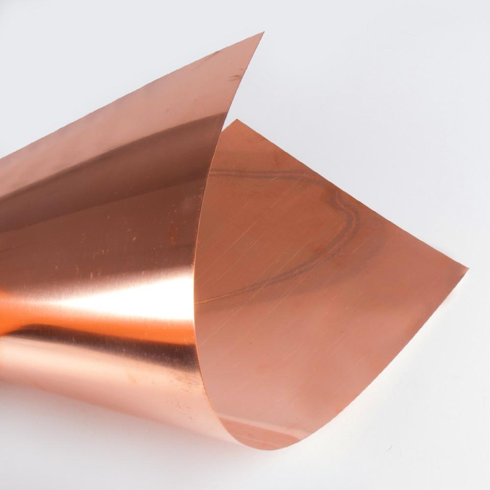 Lámina de cobre