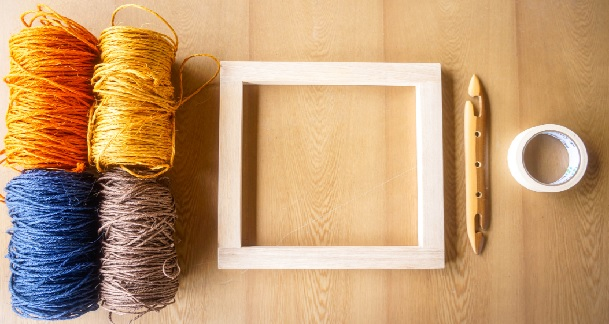 From Weaving to Wood Material Kit