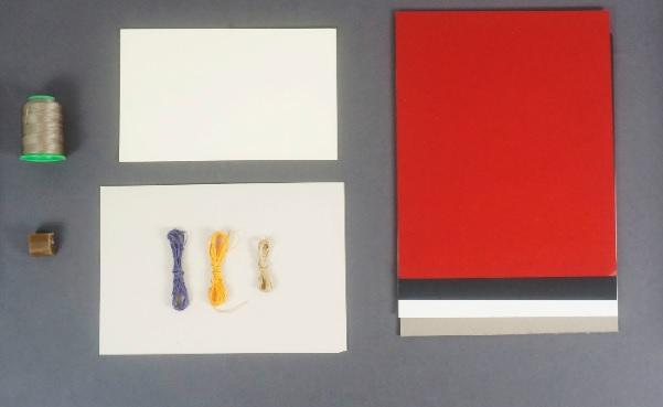 Kit de materiales encuadernación