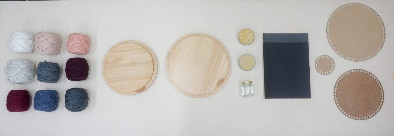Kit de materiales de tus manos a tu hogar
