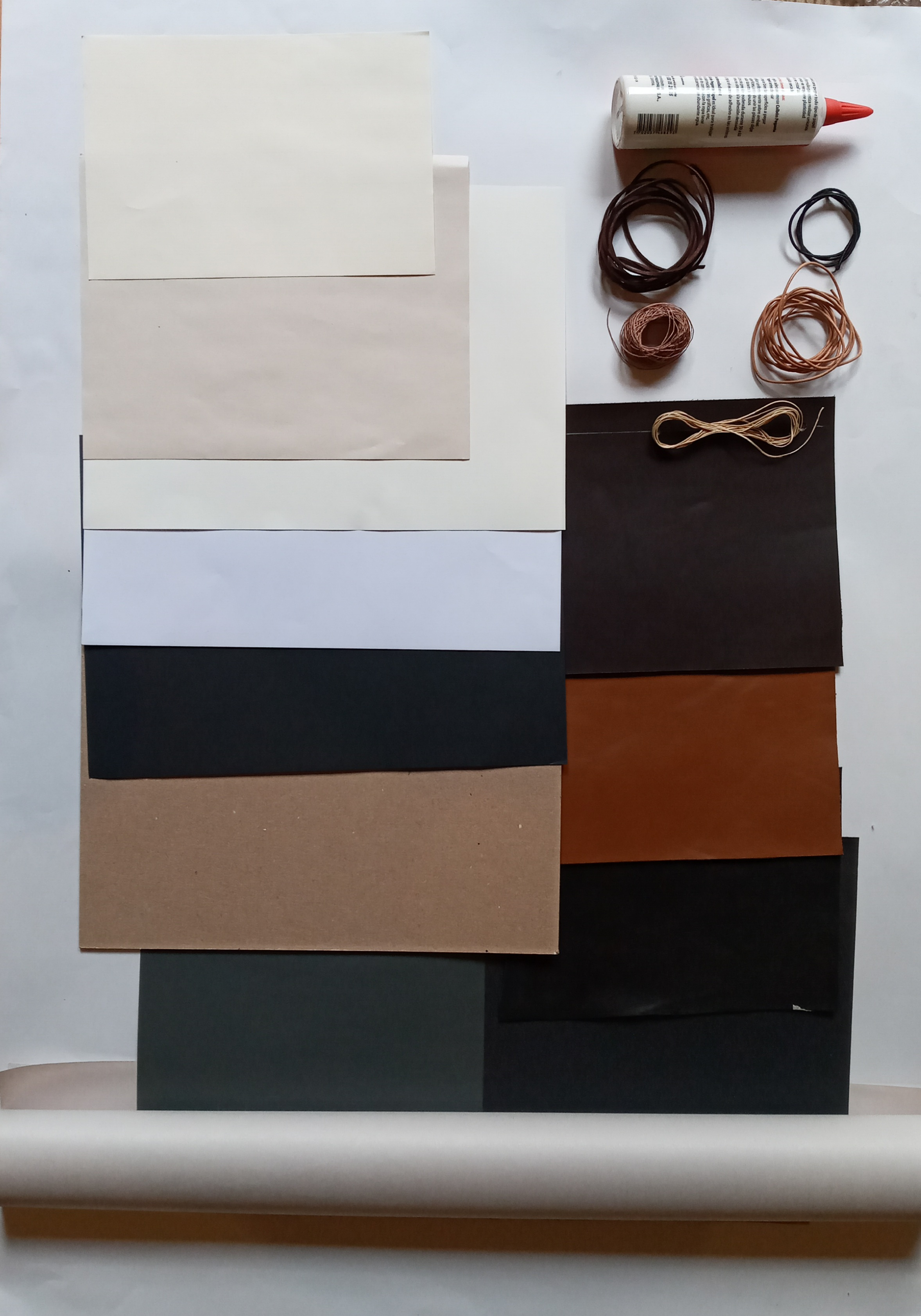 Leather Notebook Material Kit