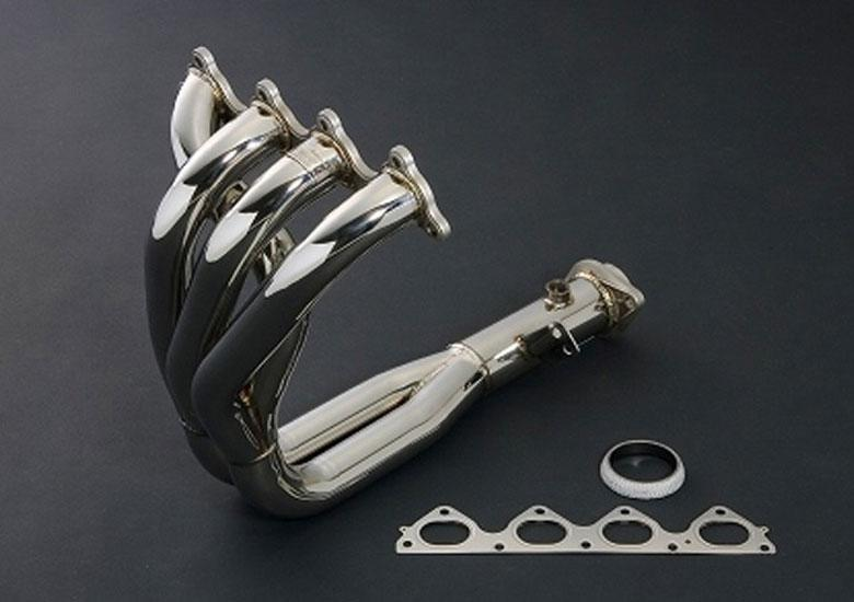 J'S RACING STAINLESS STEEL EXHAUST MANIFOLD 4-2-1 2.5'' (B-SERIE ENGINES)
