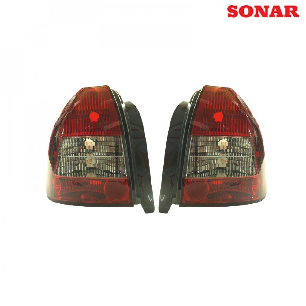 Sonar tail lights red/white clear (Civic 96-00 3drs)
