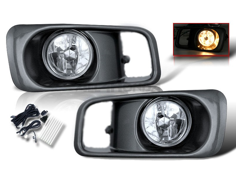 Sonar fog lights Chrome (Civic 99-00 2/3/4 drs)