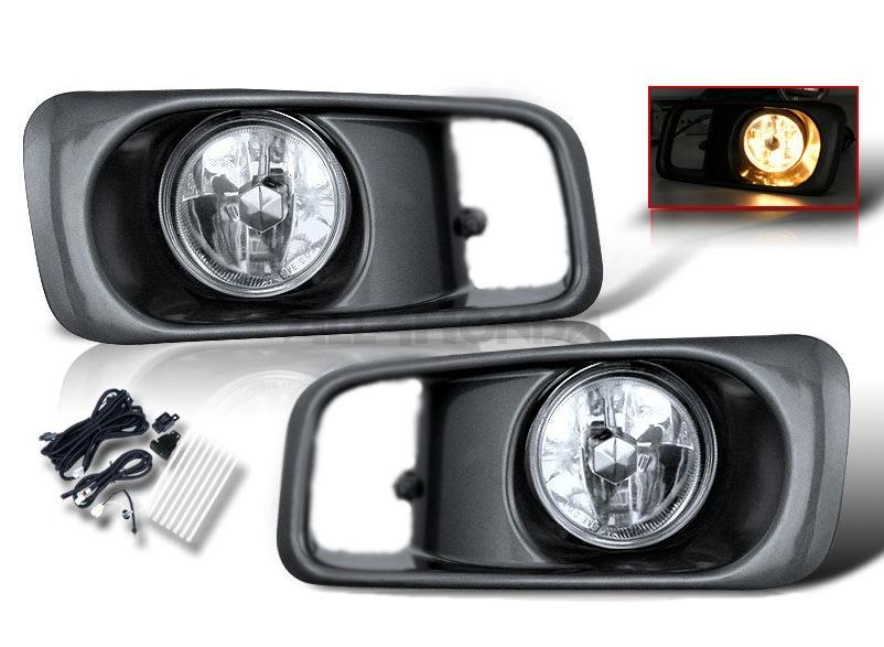 Sonar fog lights Chrome (Civic 99-00 2/3/4 drs)