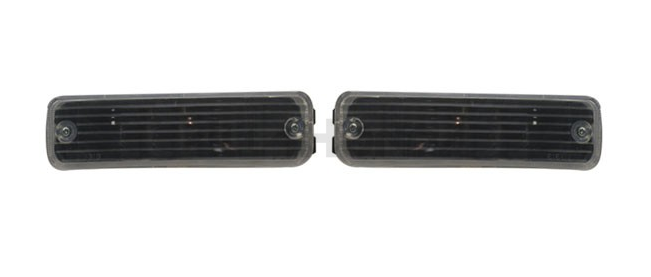 Sonar Bumper indicators black (Civic/CRX 88-89)