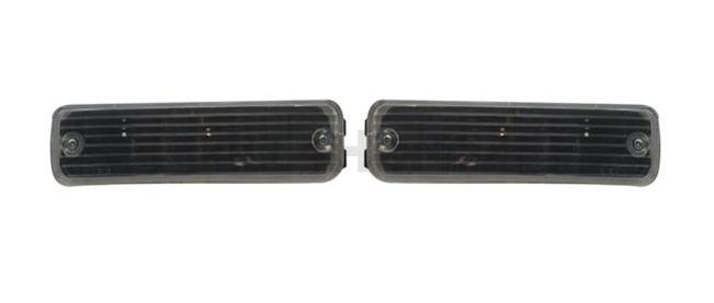 Sonar Bumper indicators black (Civic/CRX 88-89)
