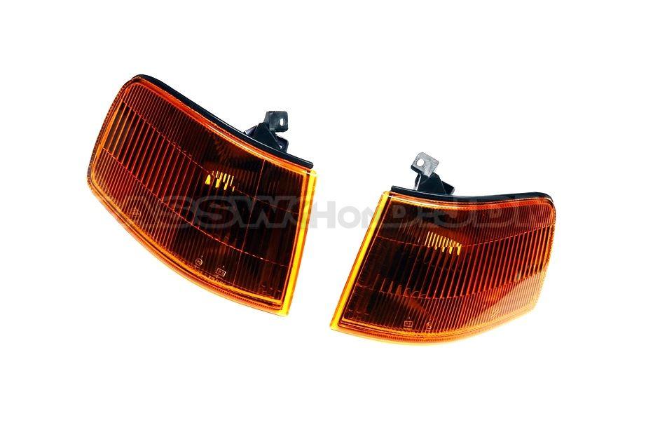 Password:JDM running lights/Corners amber smoked (CRX 90-91)
