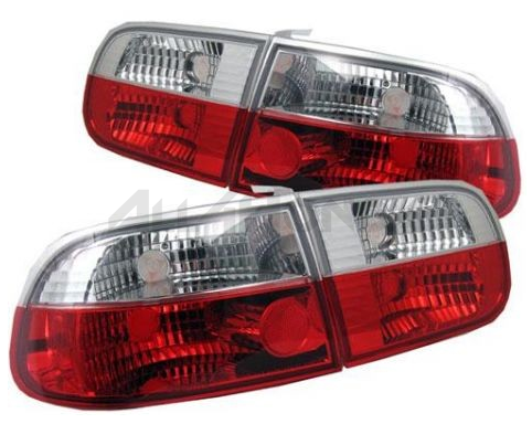 Sonar tail lights red/white clear (Civic 92-95 3drs)