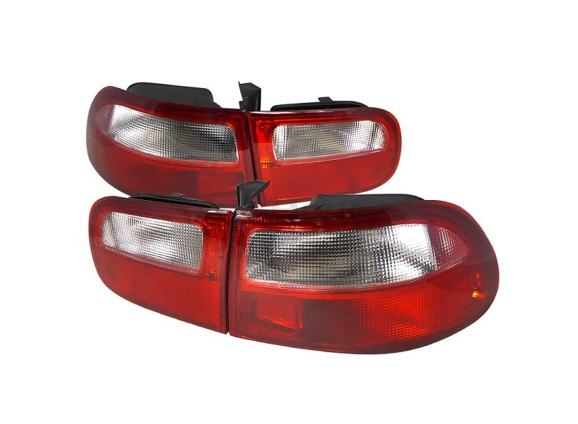 Sonar tail lights JDM red/white (Civic 92-95 2/4drs)