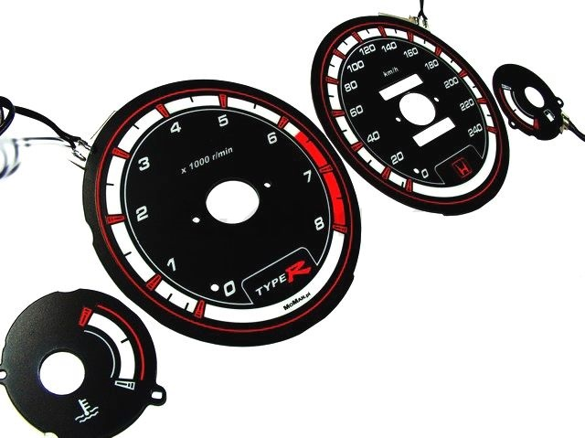 H-GEAR INDIGLO CLUSTER PLATES BLUE (ACCORD 93-97 4DRS)