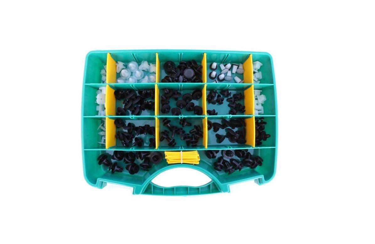 ASHUKI / BLUE PRINT MOUNTING CLIP ASSORTI BOX 170-PIECE (UNIVERSAL HONDA)