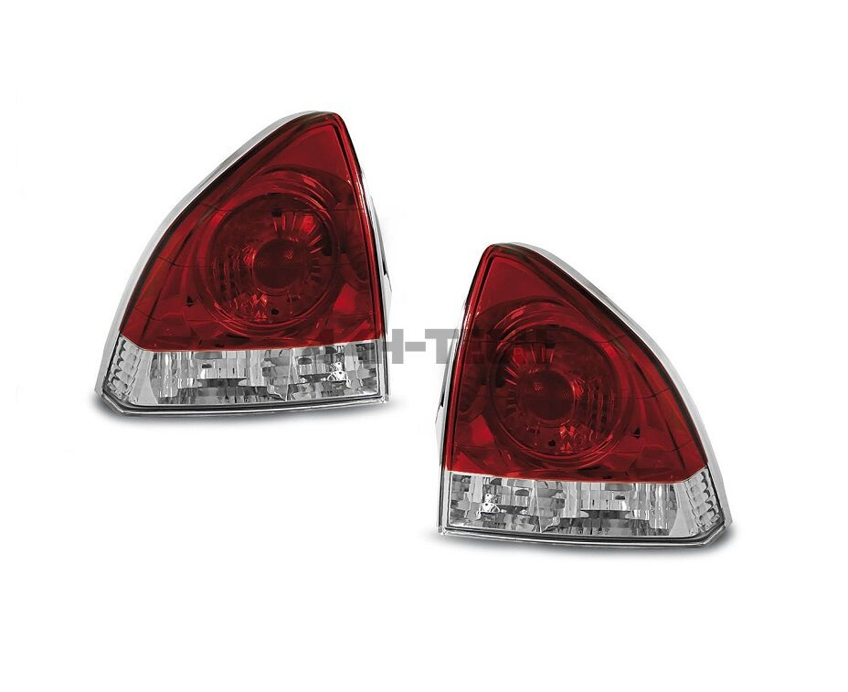 SONAR TAIL LIGHTS RED/CLEAR (PRELUDE 92-96)