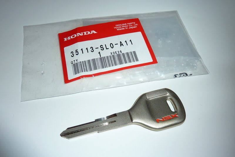 Genuine Honda Blank Key NSX NA1 91-96