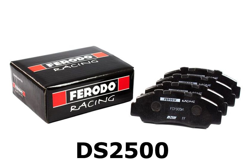 FERODO DS2500 PERFORMANCE BRAKE PADS FRONT (CIVIC 01-06 TYPE R/07-12 TYPE R/S2000 99-09)
