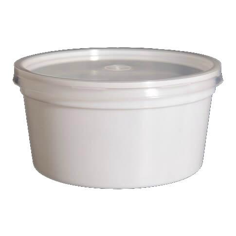 Forma plástico 500ml sopa - pack 50