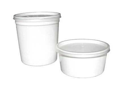 Forma Plástica Sopa 1 L - Pack 25