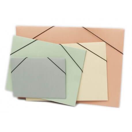 Capa C/Elásticos em cartolina A3