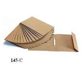 Dossier Kraft A4 C/Ferragem Simples 1Aba -145c- Pack 25uni