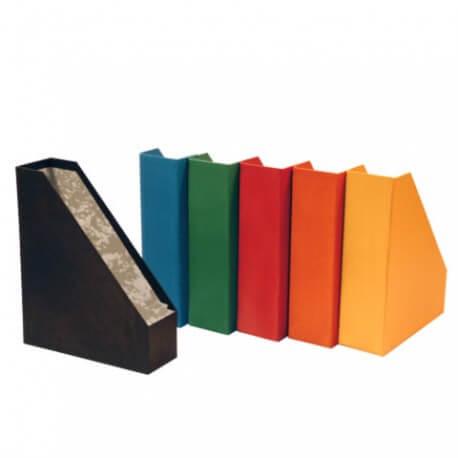 Porta-Revistas Cartão Forrado L8cm - Pack 12uni