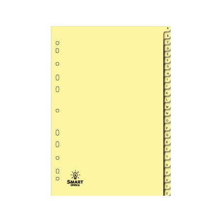 Separadores Cartolina (180gr) A4 Indice A-Z