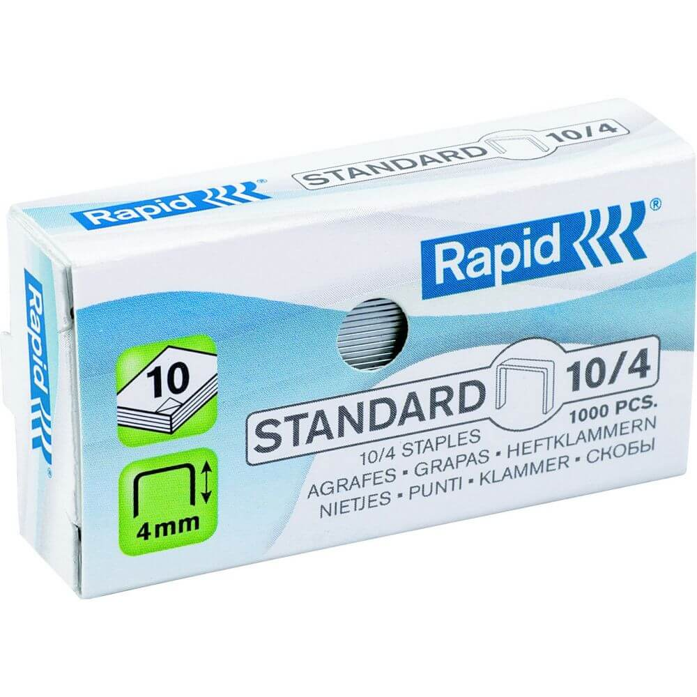 Agrafos 10 Rapid Cx 1000un - Pack 20