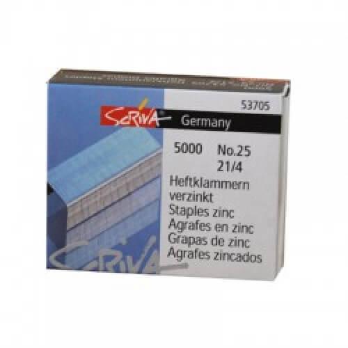 Agrafos N25 21/4 SCRIVA Cx5000 - 1un