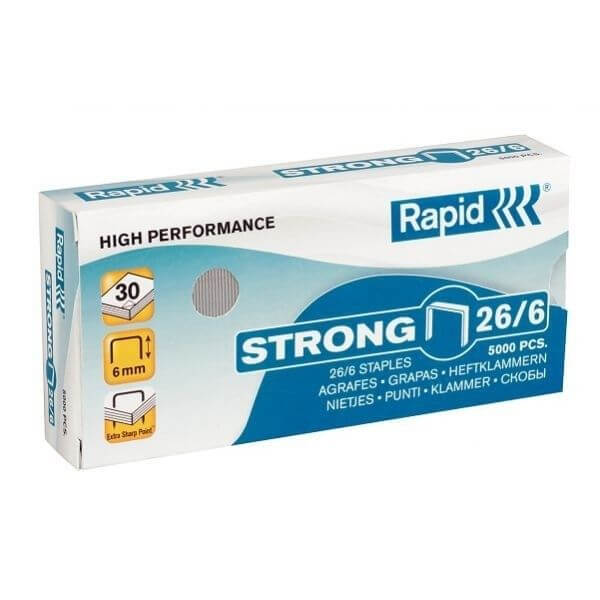 Agrafos 26/6 Rapid Cx 5000 - 1 uni
