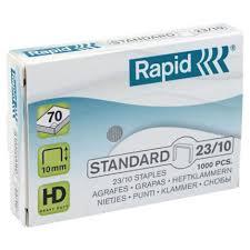 Agrafos 23/10 Rapid (10/60 Folhas) Cx1000 - 1 Uni