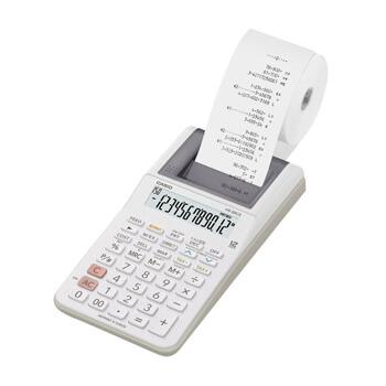 Calculadora de Secretaria Casio HR8RCE 12 Digitos c/ Fita - Preto