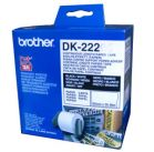 Fita Original Brother Papel Contínuo 62mmx30.48mts