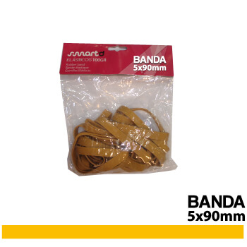 Elásticos 5X90mm (BANDA) 100gr