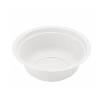 Tigelas Plástico Branco Sopa 350ml (Pack50)