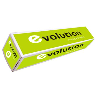 Papel Plotter 80gr 610mmx50mts Evolution (Pack 4 Rolos)