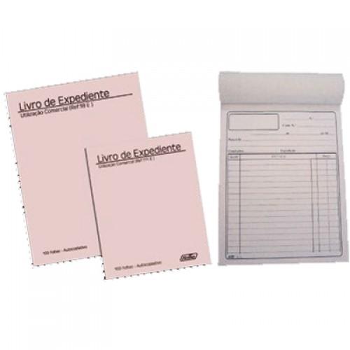 Livro Expediente A6 100FLS Autocopiativo