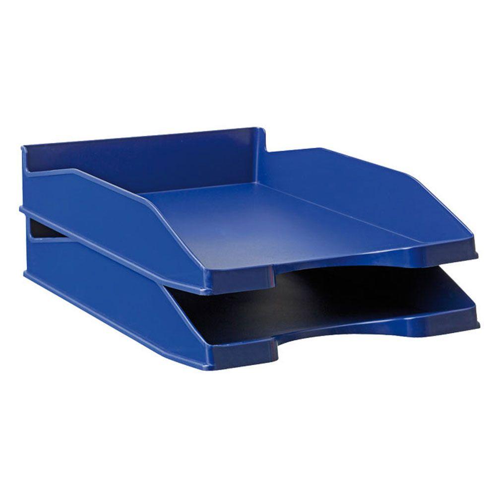 Tabuleiro Porta Documentos Opaco Azul 10 Uni