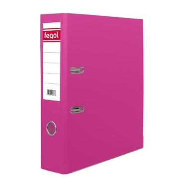 Pasta arquivo PP A4 L80 rosa(PVC) - 1uni