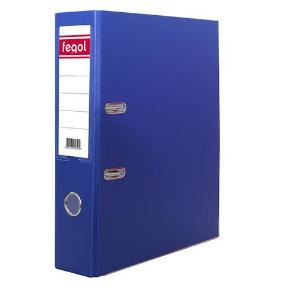 Pasta arquivo PP A4 L80 azul(PVC) - 1uni