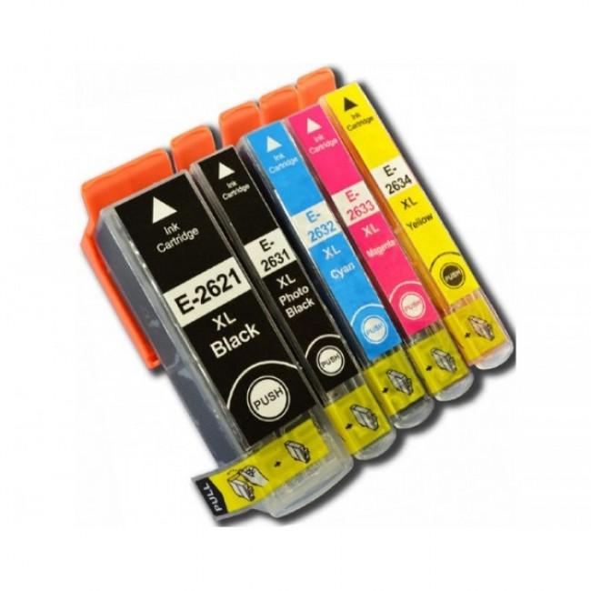 Tinteiros Epson 26 XL -  T2621/T2631/2/3/4