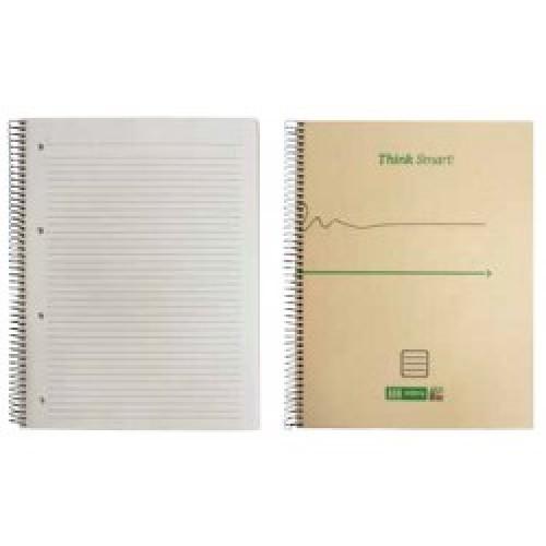 Caderno esp. c/dura A4 ECO.BIZ pautado (96folhas)