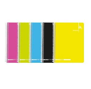 Caderno esp capa colors A5 pautado (80 folhas) 53v